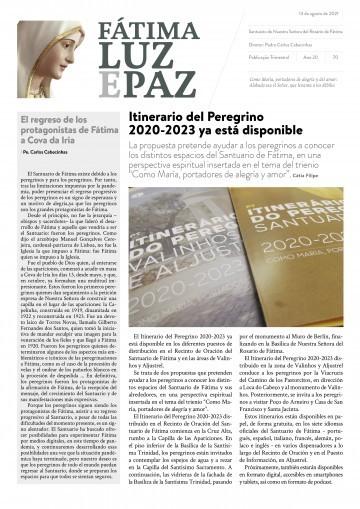 Fátima Luz y Paz, 70