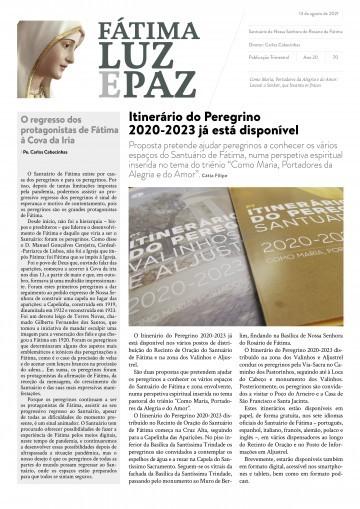 Fátima Luz e Paz, 70